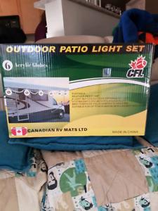Edmonton Eskimos Light Patio Set
