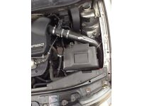 Carbonio cold air induction mk4 golf seat leon a3 air filter not k&n cone