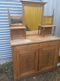 Sideboard console mirror unit FREE TO COLLECT