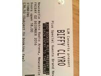 Biffy Clyro ticket for Newcastle. SOLD!!