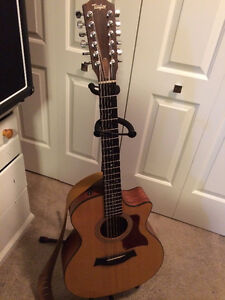 Beautiful Taylor 12 String Acoustic - Electric