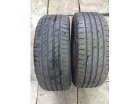 Dunlop sport tyres 215 45 18