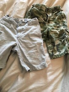 Size 7 kids shorts old navy cherokee