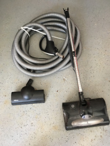 Nutone central vac hose, electric power brush, delux air turbine