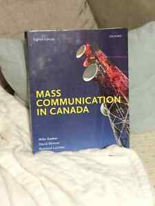Mass Communication in Canada, 8th edition - by Mike Gasher Kitchener / Waterloo Kitchener Area image 1