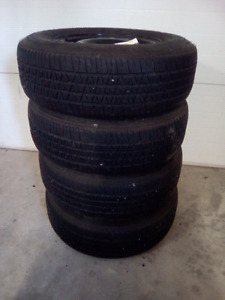 P-205/75R14 Tires and Rims