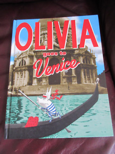 Olivia goes to Venice - First Ed.  Adventures of an adorable pig