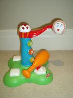 Playskool Swing 'N' Score Baseball Tee: Clean, NEW condition
