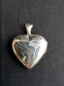 925 silver locket pendant jewellery (L)