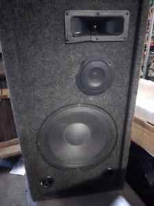 Carpeted speaker
