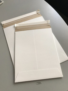 Stayflat Mailers in Boxes - White - Three sizes