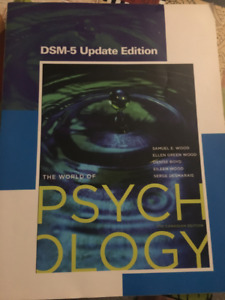 Textbook ( The World of Psychology )