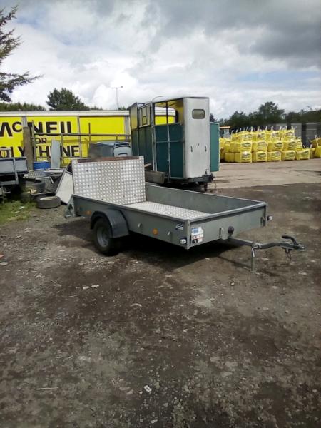 Ifor Williams p8e 8x5 quad trailer no vat for sale  Hamilton, South Lanarkshire