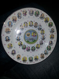 AWESOME PLATE WITH PICS AND DATES OF EVERY AMERICAN PRESIDENT 7$ London Ontario image 2