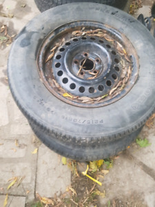 Dodge caravan tires and rims