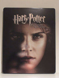 Harry Potter and the prisoner of Azkaban (Blu-ray Steelbook)