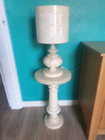 marble lamp with stand