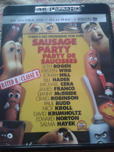 4K + Blu Ray combo Party de Saucisses