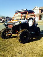 Amazing 2013 Polaris RZR S 800 Lifted