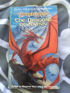 The Dragons of Krynn edited by Margaret Weis and Tracy Hickman