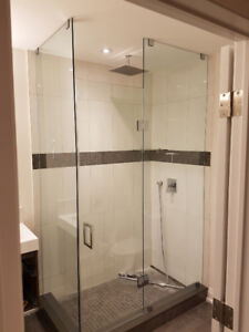 Shower door install find or advertise skilled trade services custom shower glass doors glass railings and more planetlyrics Images