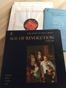 Age of Revolution.The Story of Great Music.5 Long play