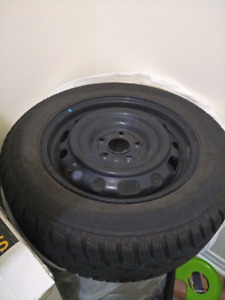 4 Winter Tires 215/60R-16 with Rims