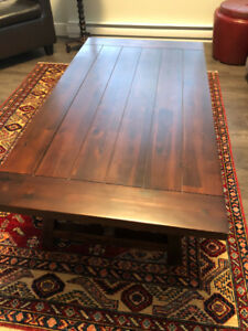 Urban Barn Coffee Table and end table for sale