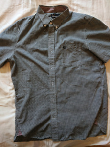 Fred Perry Gingham Shortsleeve Shirt