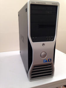 Dell Gaming Tower, 6 Core 3GHz, 18GB DDR3,GTX 1050 TI,Pay No Tax