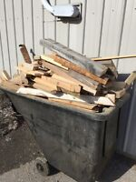Free scrap wood - great kindling, firewood, etc.
