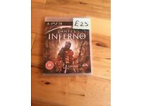 Dante's Inferno PS3 game