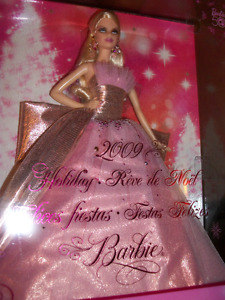 2009 50th Anniversary Holiday Barbie Mint Condition