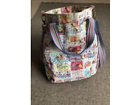 Cath Kidston coppers and robbers changing bag £10