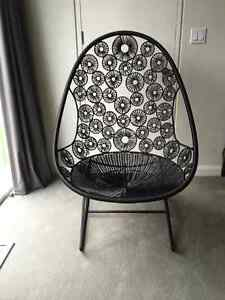 Modern Black Designer Chair