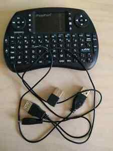 Wireless keyboard/remote