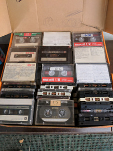 120 previously enjoyed cassettes
