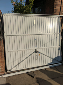 Garage Gate with Lock, Cable Function