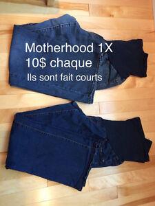 Jeans de maternité Motherhood - grandeur 1X (plus grand que XL)