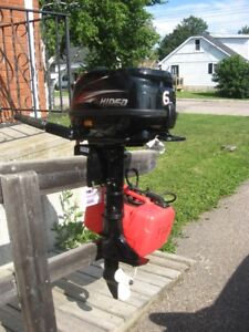 Almost New 6 HP 4 Stroke Outboard