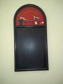 Novelty Art Snooker Board