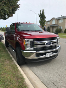 2017 F250 Metallic Ruby Red Truck for sale