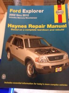 2002-10  Ford Explorer Haynes  Manual (new)