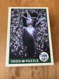 Cobble Hill Rose Bower 1000 Piece Puzzle, Like new