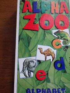 Alpha Zoo (jeu  sur la séquence des lettres de l'alphabet) Saint-Hyacinthe Québec image 1