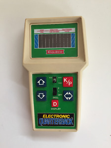 Electronic Quarterback Game