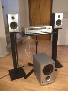 Technics and Angstrom 2.1 Home Stereo