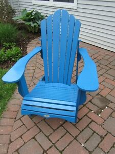 Blue Adirondack Chair for sale