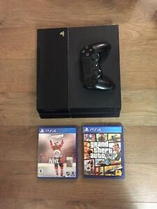 PS4 with two games