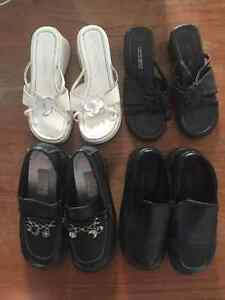 4 Pairs of Girls' Shoes - Size 3